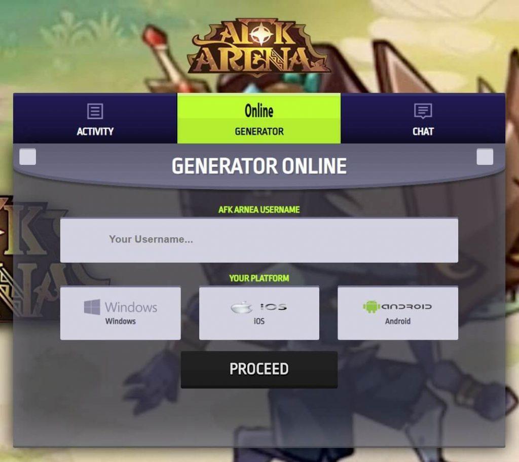 afk arena hack tool APK