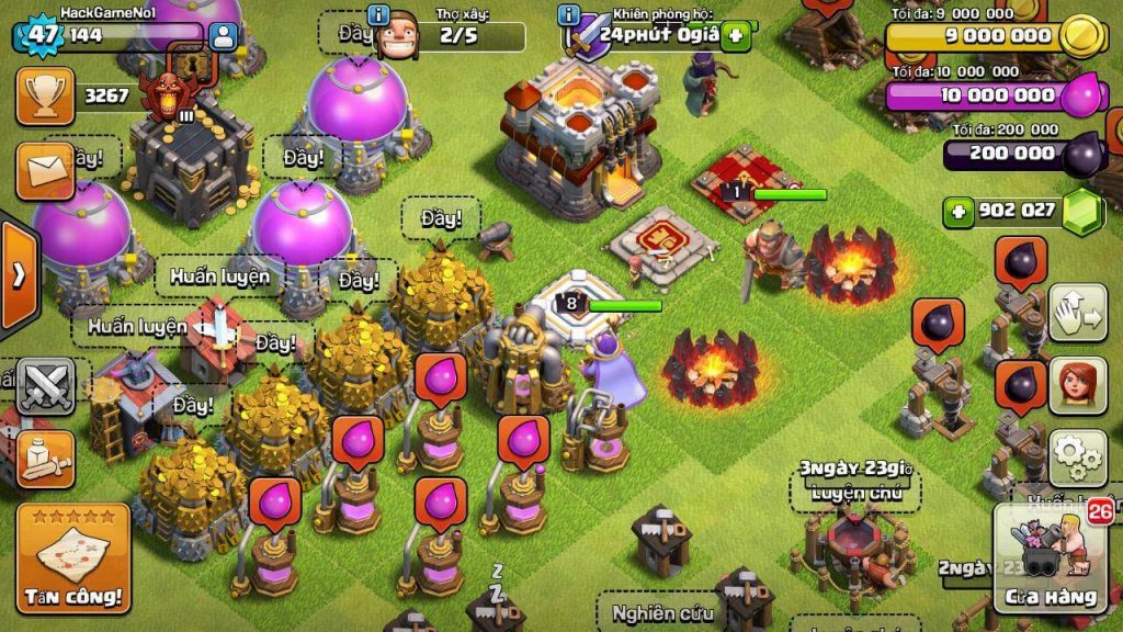 clash of clans gems cheat hack
