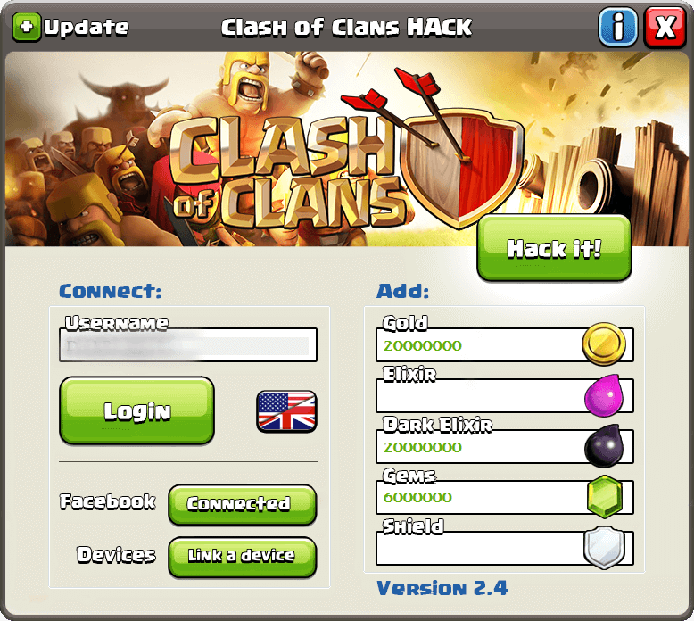 clash of clans hack tool for android APK/iOS
